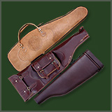 Rifle covers leather