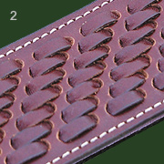 Types of decorative weaving (lath fence)
