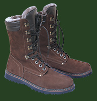 553-1. High boots «Pointer» nubuk winter