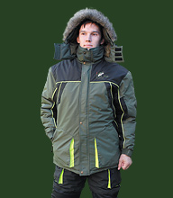 9873. Winter suit «Fisher»